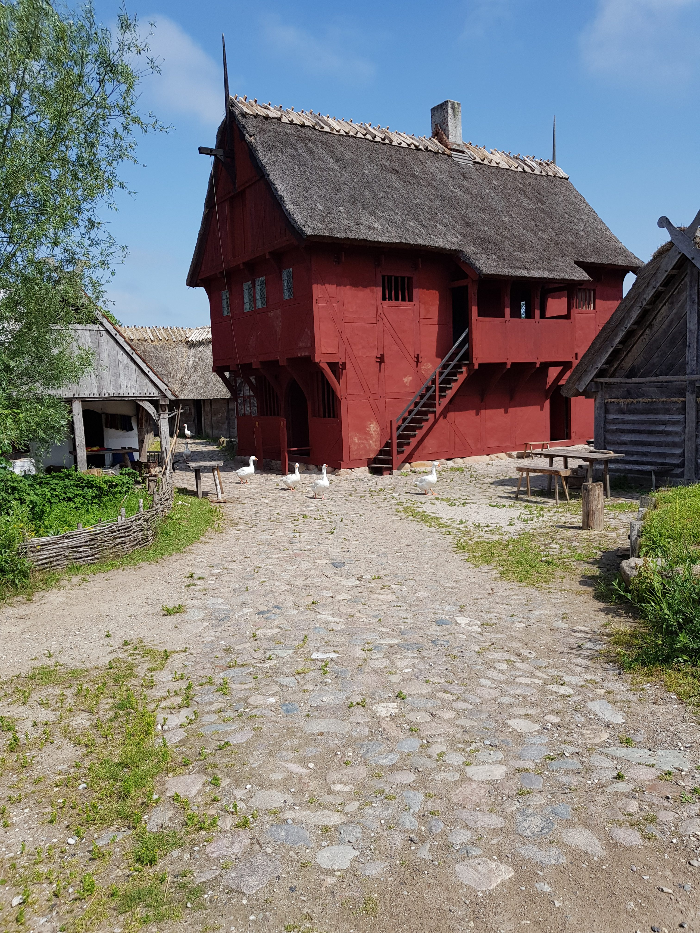 Mittelalter auf Falster © Pfotentour